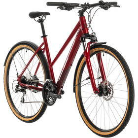 Cube Nature Allroad Trapez, red/grey